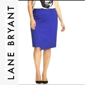 Lane Bryant Asymmetrical  Pencil Skirt size 22